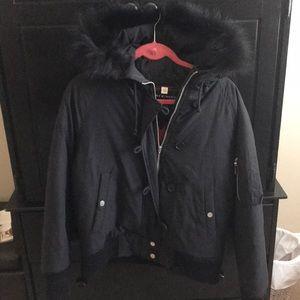 Tommy Hilfiger fur lined hood jacket